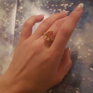 Jewelry - Tri Stone Pear Shaped CZ Ring